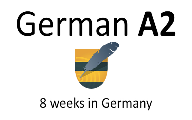 German language course A2 in Germany