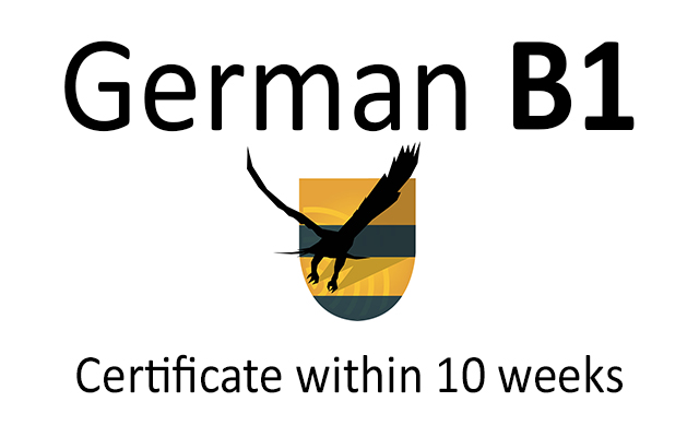 German language course online B1