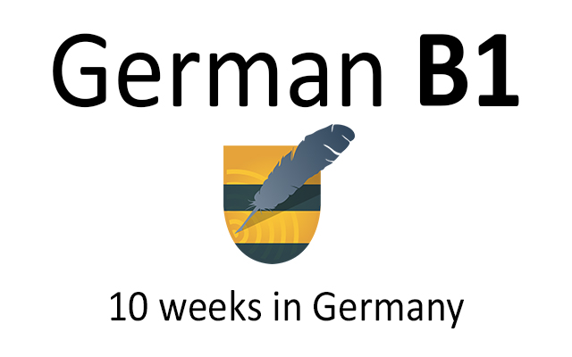 German language course B1 in Germany
