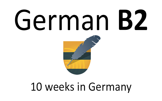 German language course B2 in Germany