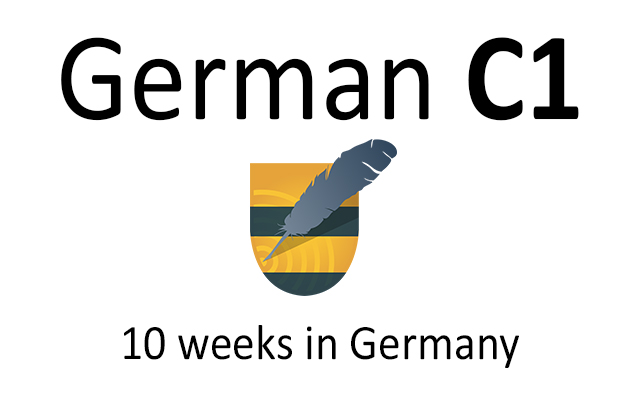 German language course C1 in Germany