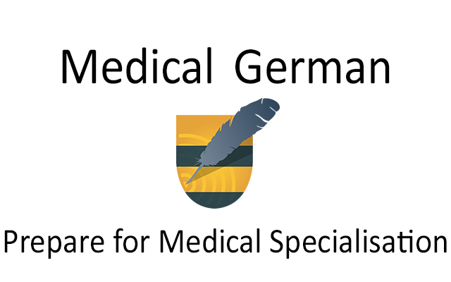 Medical German language course for specialisation in Germany