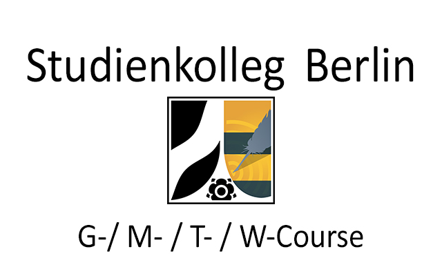 Studienkolleg Berlin - G-/M-/T-/W-course
